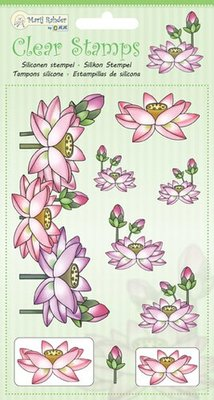 Marij Rahder Clear Stamps Lotus (9.0035)