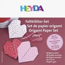 Heyda Origami Paper Set Love (204875505)