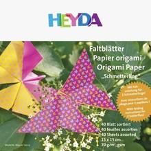 Heyda Origami Paper Set Butterflies (204875581)