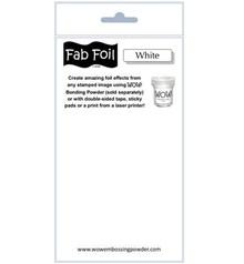 WOW! Snowy White Fabulous Foil (W216-BW11)