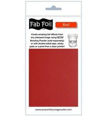 WOW! Red Fabulous Foil (W216-RE80)
