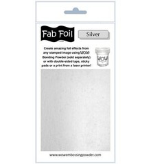 WOW! Bright Silver Fabulous Foil (W216-S01)
