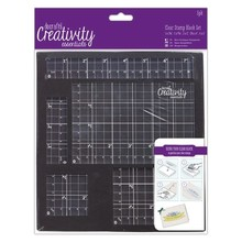 Docrafts Creativity Essentials Clear Stamp Block Set #1 (DCE 9031007)