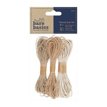 Papermania Bare Basics Natural Jute Set (3pcs) (PMA 174171)