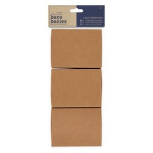 Papermania Bare Basics Large Matchboxes (3 pcs) (PMA 174653)