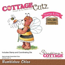 Scrapping Cottage CottageCutz Bumblebee Chloe (CCS-025)
