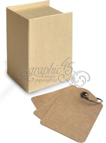 Graphic 45 ATC Book Box (4500845)