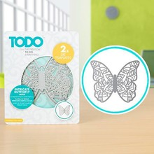 TODO Die Template Set Intricate Butterfly Large (383646)