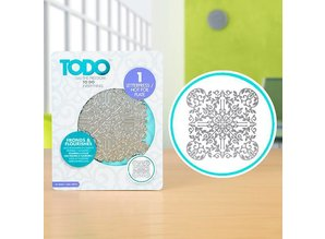 TODO Hot Foil Stamp Fronds and Flourishes (383621)