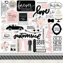 Echo Park Wedding Bliss Element Stickers (WB129014)
