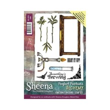 Sheena Alchemy Something's Brewing Unmounted Rubber Stamp Set (SD-PPS-SBR)