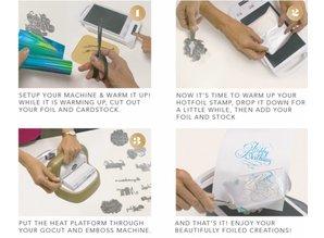 Couture Creations GoPress and Foil + GRATIS HOT FOIL STAMP (CO725032EU)