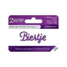 Die'sire Biertje Words Metal Die (DS-E-W-48-NL)