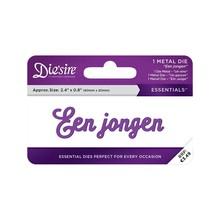 Die'sire Een Jongen Words Metal Die (DS-E-W-59-NL)