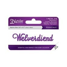 Die'sire Welverdiend Words Metal Die (DS-E-W-65-NL)
