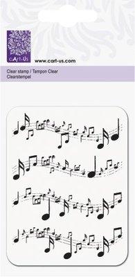 cArt-Us Clear Stamp Muzieknoten (2118832503)