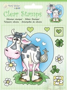 Marij Rahder Clear Stamps Cow (9.0044)