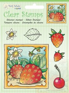 Marij Rahder Clear Stamps Strawberry (9.0045)