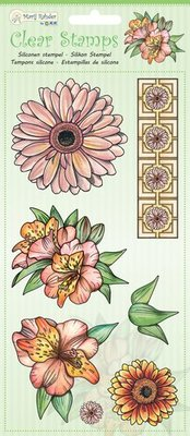 Marij Rahder Clear Stamps Flowers (9.0048)