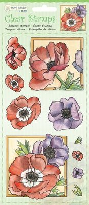 Marij Rahder Clear Stamps Poppy (9.0049)