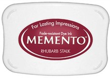 Tsukineko Memento Rhubarb Stalk Dye Ink Pad (ME-301)