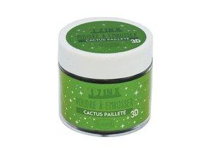 Aladine Embossing Powder 25 ml Cactus Paillete (10201)