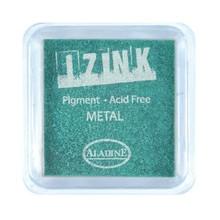 Aladine Inkpad Izink Pigment Metal Green (19130)
