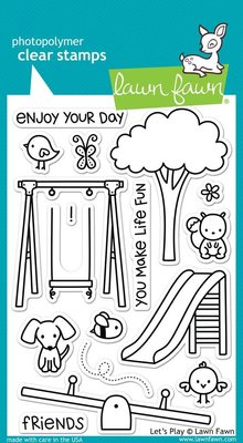 Lawn Fawn Let's Play Clear Stamps (LF848)