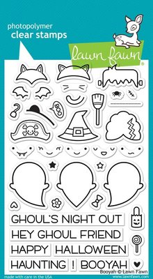 Lawn Fawn Booyah Clear Stamps (LF932)