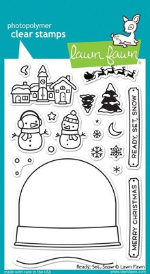 Lawn Fawn Ready, Set, Snow Clear Stamps (LF973)