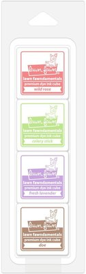 Lawn Fawn Premium Dye Ink Tea Party Cube Pack (LF1399)
