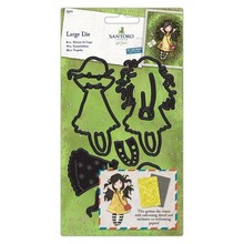 Gorjuss Spring At Last Snijmallen & Papier Set (GOR 503006)