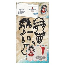 Gorjuss Summer Days Snijmallen & Papier Set (GOR 503007)