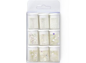 Paperpads.nl SELECT Glitter Set White (12194-9401)