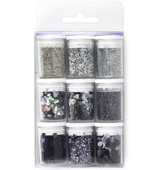 Paperpads.nl SELECT Glitter Set Silver (12194-9402)