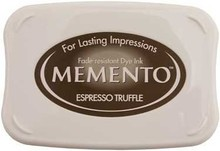 Tsukineko Memento Espresso Truffle Dye Ink Pad (ME-808)
