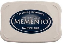 Tsukineko Memento Nautical Blue Dye Ink Pad (ME-607)