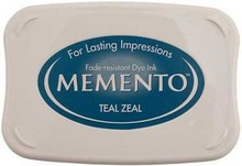 Tsukineko Memento Teal Zeal Dye Ink Pad (ME-602)