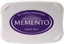 Tsukineko Memento Grape Jelly Dye Ink Pad (ME-500)
