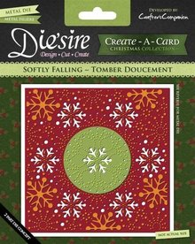 Die'sire Softly Falling Create-A-Card Die (DS-CADX-FALL)