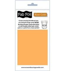 WOW! Rose Gold Fabulous Foil (W216-RG95)