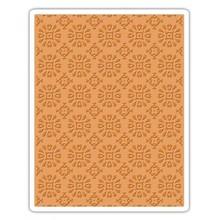 Sizzix Texture Fades Rosetes Embossing Folder (662391)