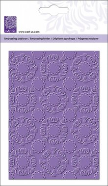 cArt-Us Embossing Folder Ornament Cirkels (10,5x14,8 cm)