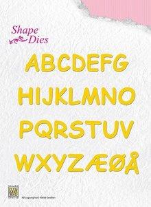 Nellie Snellen Shape Die Alphabet (SD037)