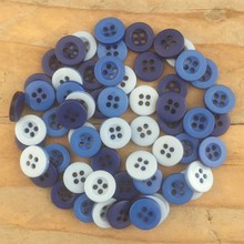 Dovecraft Plastic Buttons - Demin