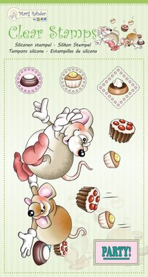 Marij Rahder Clear Stamps Mouses 2 (9.0051)