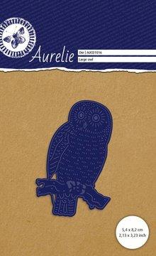Aurelie Grote Uil Snij- & Embossingsmal (AUCD1016)