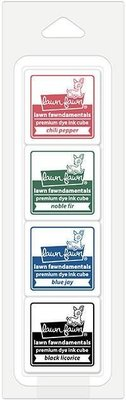 Lawn Fawn Premium Dye Ink Christmas Tree Lot Cube Pack (LF1532)