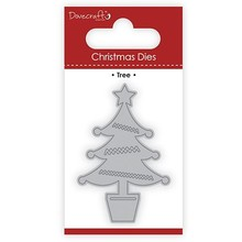 Dovecraft Christmas Die Tree (DCDIE107X17)