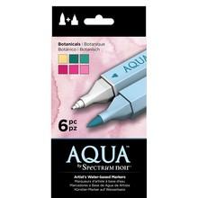 Spectrum Noir Aqua Markers Botanicals 6 Colors (SPECN-AQ6-BOT)